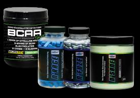 BCAA Sport, NRAGE, N'FUZE, NSANE | Pre-Workout Stack 5